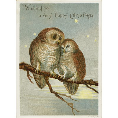 Lot 309 - 7 ALBUMS OF CHRISTMAS CARDS