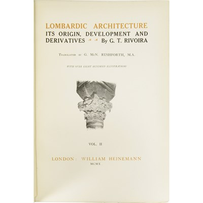 Lot 34-ARCHITECTURAL HISTORY