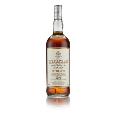 Lot 33-THE MACALLAN 1991 ELEGANCIA