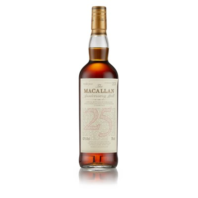 Lot 38-THE MACALLAN 25 YEAR OLD ANNIVERSARY MALT