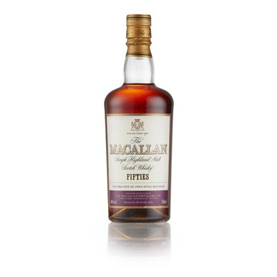 Lot 23-THE MACALLAN 'FIFTIES' DECADES EDITION