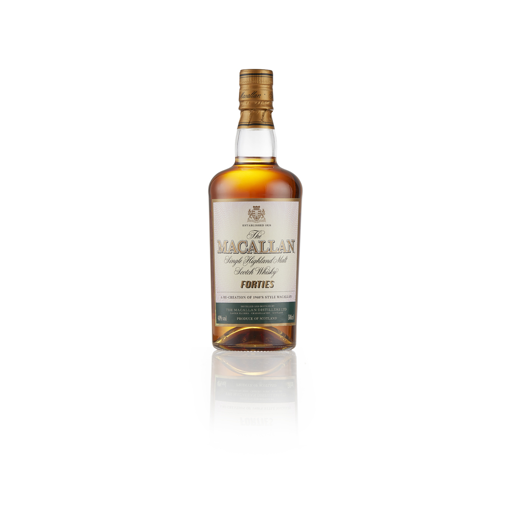 Lot 22-THE MACALLN 'FORTIES' DECADES EDITION