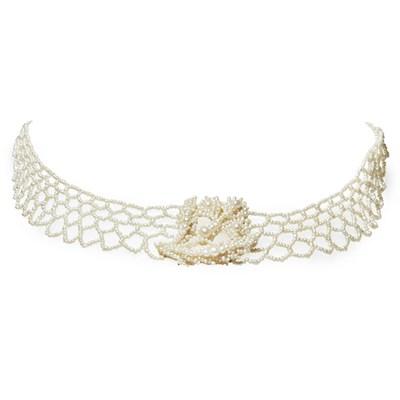 Lot 51-A Regency seed pearl necklace