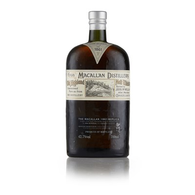 Lot 24 - THE MACALLAN 1861 REPLICA