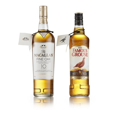 Lot 27-THE MACALLAN FINE OAK 10 YEAR OLD