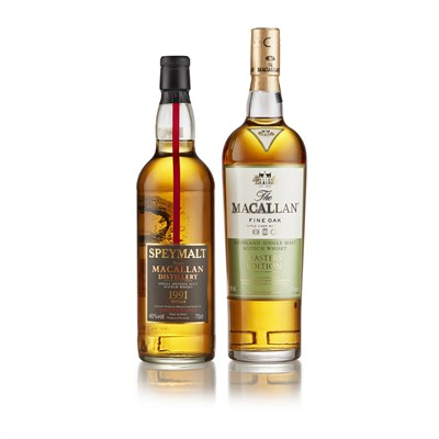 Lot 17 - THE MACALLAN FINE OAK MASTERS EDITION