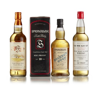 Lot 59-SPRINGBANK 1991 12 YEAR OLD