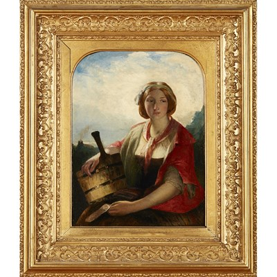 Lot 20-JAMES ECKFORD LAUDER R.S.A. (SCOTTISH 1811-1869)