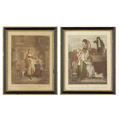 Lot 40-FRANCIS WHEATLEY (1747-1801), SET OF THIRTEEN 'CRIES OF LONDON'