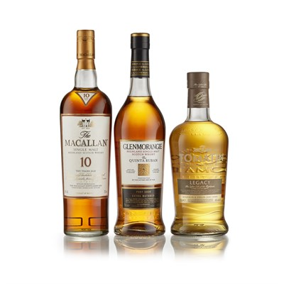 Lot 28-THE MACALLAN 10 YEAR OLD