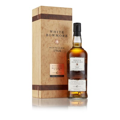 Lot 77 - WHITE BOWMORE 1964 43 YEAR OLD