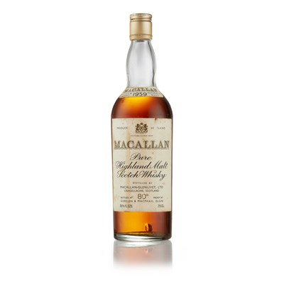 Lot 40-THE MACALLAN 1959 (1970S)
