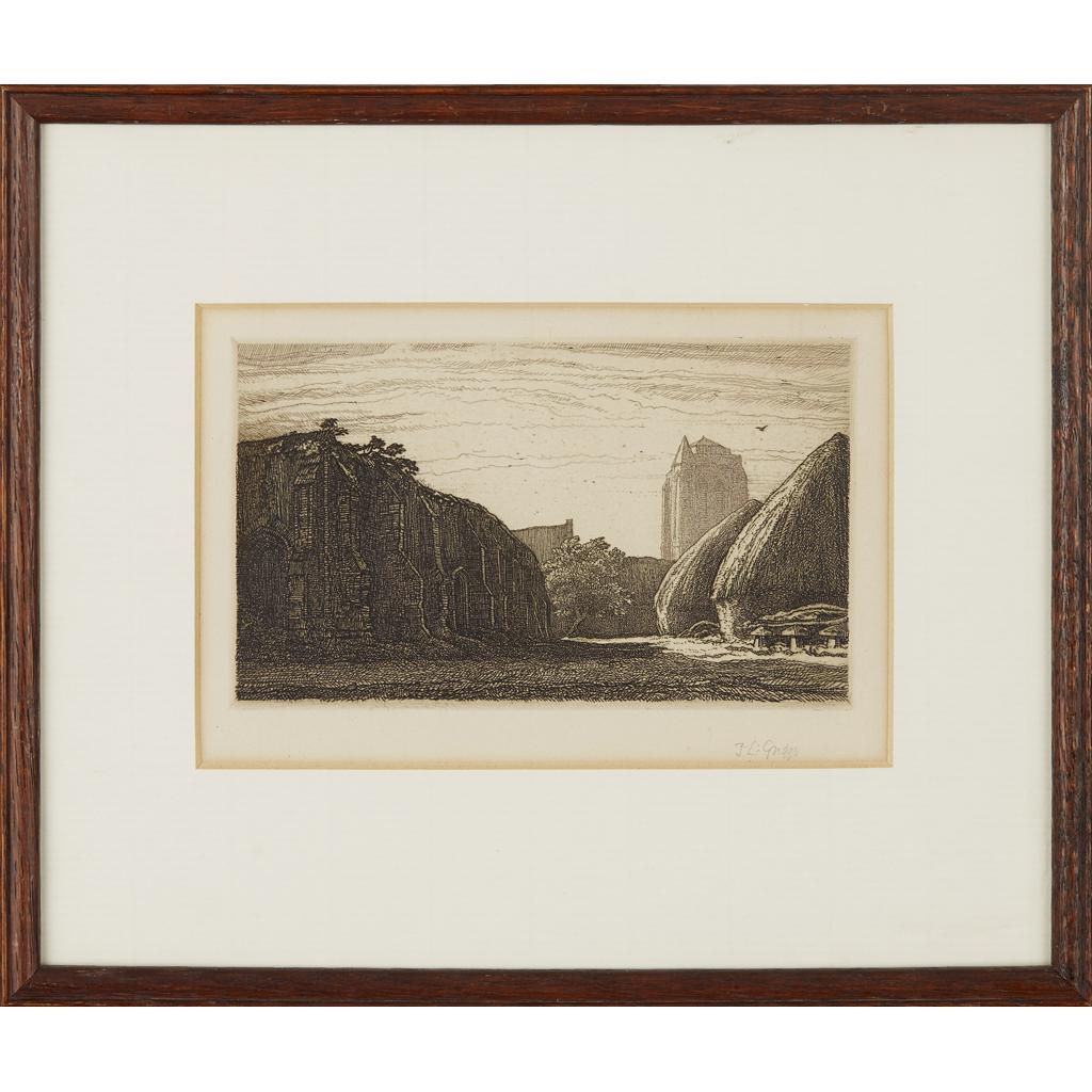 Lot 138 - FREDERICK LANDSEEUR MAUR GRIGGS R.A., R.E. (BRITISH 1876-1938)