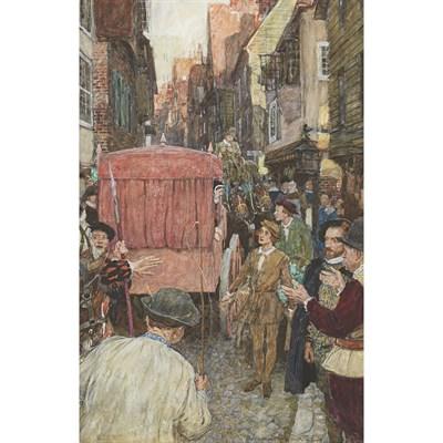 Lot 11 - WILLIAM HATHERELL (BRITISH 1855-1929)