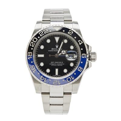 Lot 333 - A gentleman's stainless steel wrist watch, Rolex
