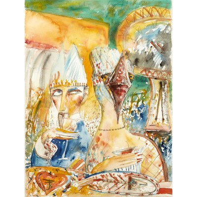 Lot 2-JOHN BELLANY C.B.E., R.A., H.R.S.A. (SCOTTISH 1942-2013)