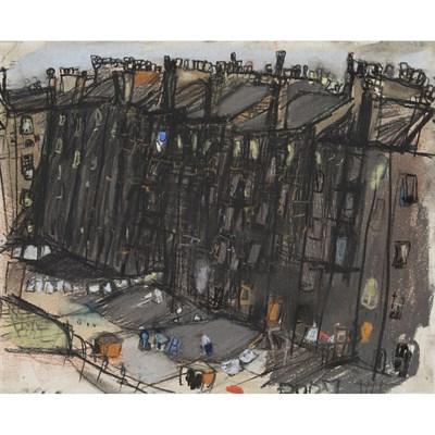 Lot 94-JOAN EARDLEY R.S.A. (SCOTTISH 1921-1963)