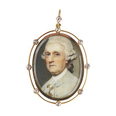Lot 53-ATTRIBUTED TO GEORGE ENGLEHEART (1752-1829)