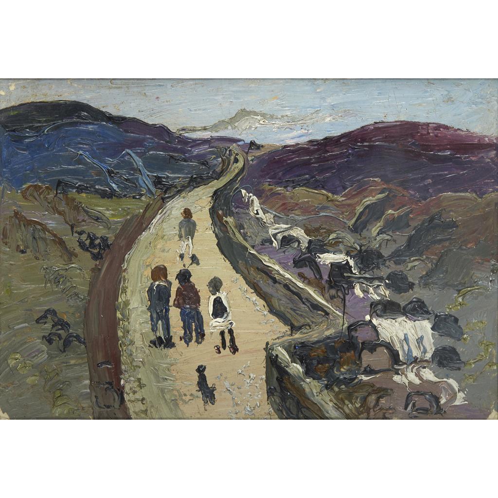 Lot 24-FRED YATES (BRITISH 1922-2008)