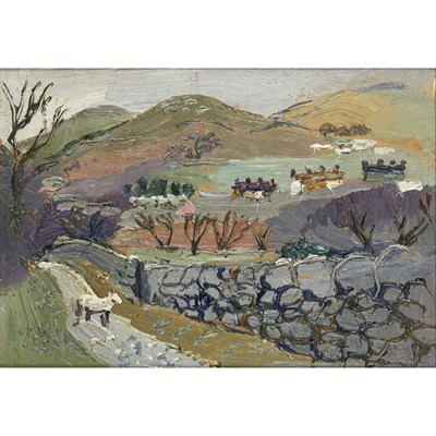 Lot 26-FRED YATES (BRITISH 1922-2008)