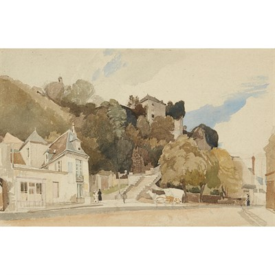 Lot 39-CHARLES KNIGHT R.W.S. (BRITISH 1901-1990)