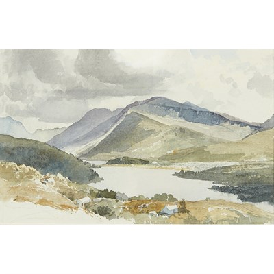 Lot 35-CHARLES KNIGHT R.W.S. (BRITISH 1901-1990)