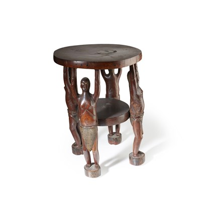 Lot 84-EAST AFRICAN STOOL