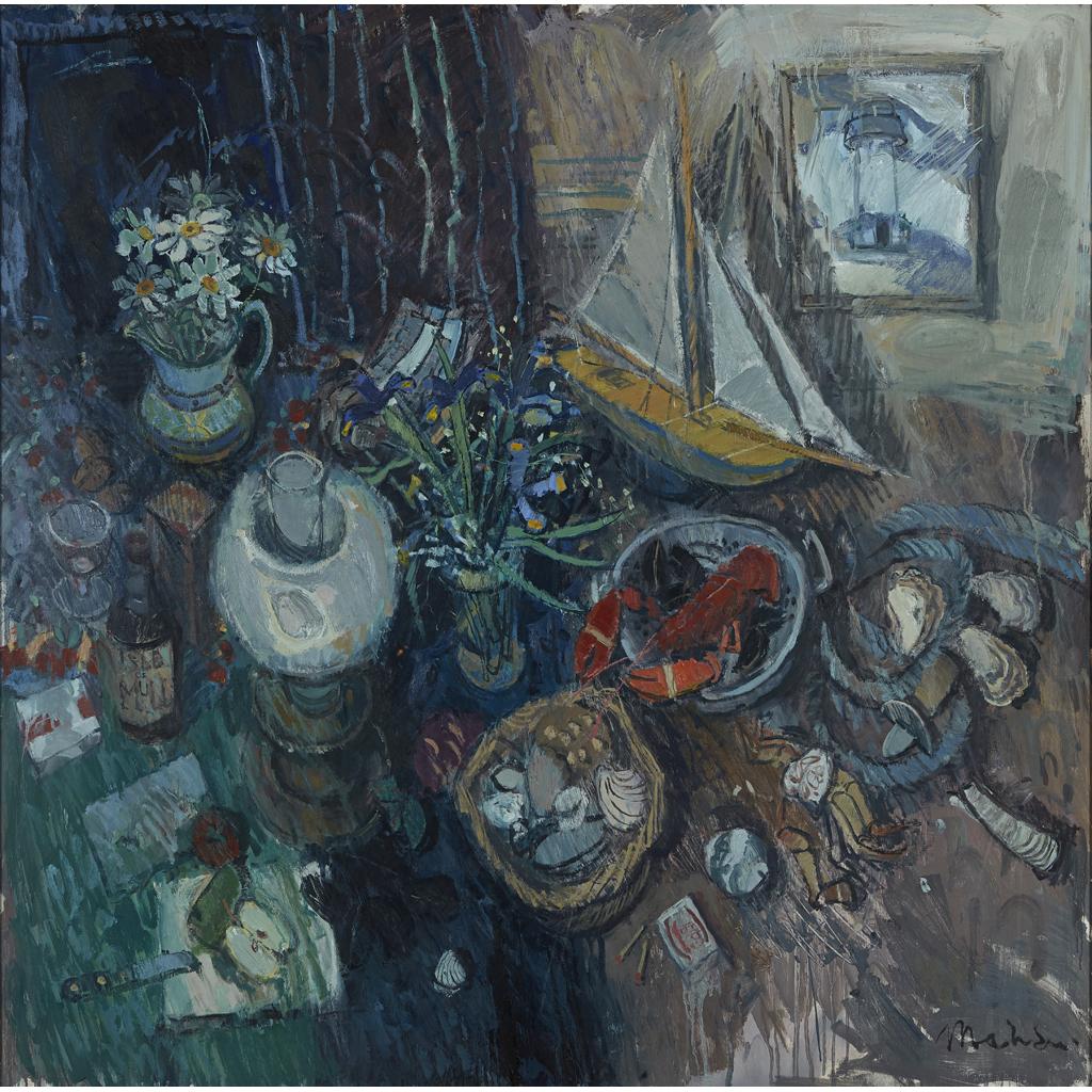 Lot 11-DONALD MANSON (SCOTTISH B.1948)