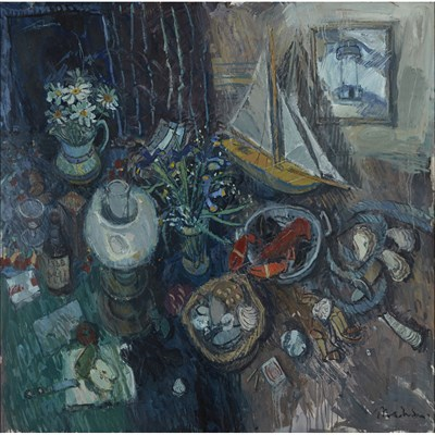 Lot 11-DONALD MANSON (SCOTTISH B.1948)