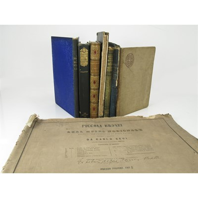 Lot 3-ART & ARCHITECTURE, 8 VOLUMES