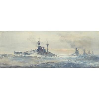 Lot 86 - FRANK WATSON WOOD (SCOTTISH 1862-1953)