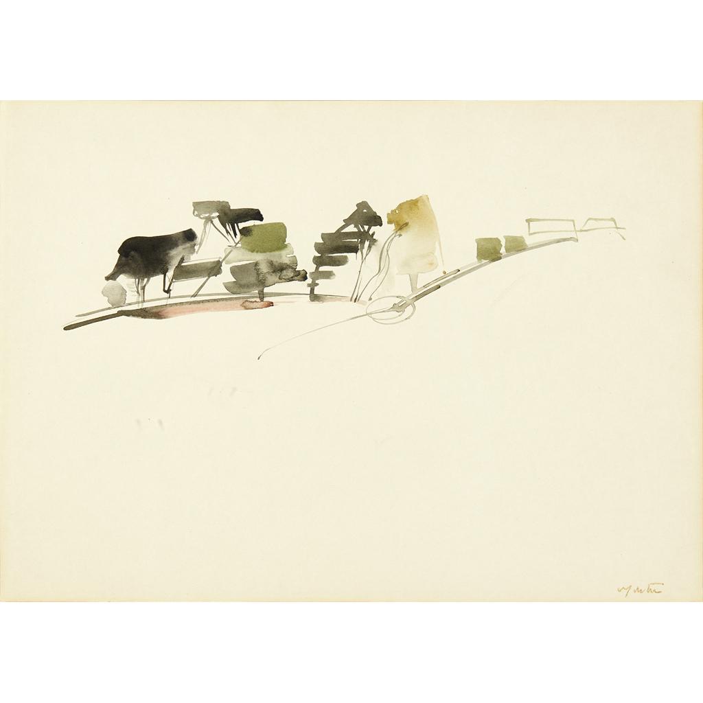 Lot 134 - WILLIAM JOHNSTON O.B.E. (SCOTTISH 1897-1981)