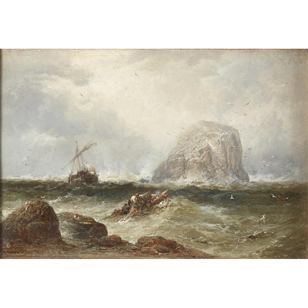 Lot 27-JAMES WEBB R.A. (BRITISH 1825-1895)