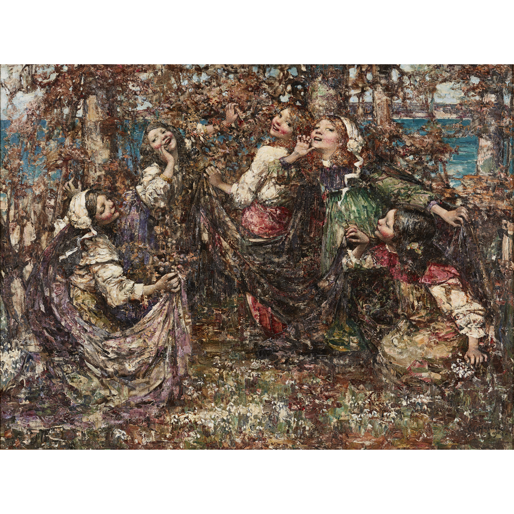 Lot 41 - EDWARD ATKINSON HORNEL (SCOTTISH 1864-1933)