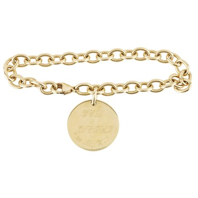 Lot 31-A modern bracelet, Tiffany & Co.