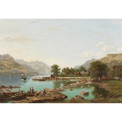 Lot 13-ELIZA AGNETUS EMILIUS NIJHOFF (DUTCH 1826 - 1903)