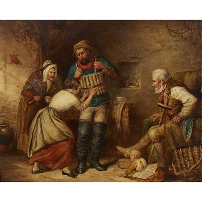Lot 7-ALEX LEGGATT (SCOTTISH C.1828-1884)