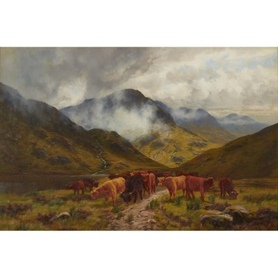 Lot 14-ARTHUR MILLWARD (19TH CENTURY BRITISH)