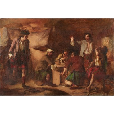 Lot 22-SIR WILLIAM QUILLER ORCHARDSON R.A., H.R.S.A. (SCOTTISH 1832-1910)