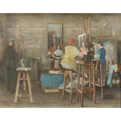 Lot 65 - JAMES COWIE R.S.A., L.L.D. (SCOTTISH 1886-1956)