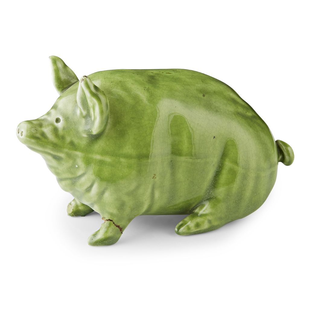 Lot 168-A SMALL WEMYSS WARE PIG