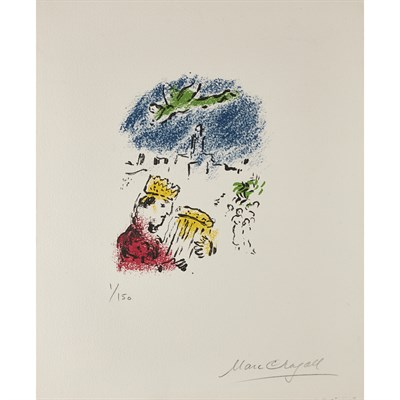 Lot 53-MARC CHAGALL (RUSSIAN/FRENCH 1887-1985)