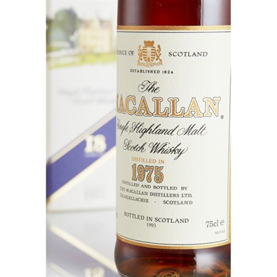Lot 36 - MACALLAN 1975 18 YEAR OLD