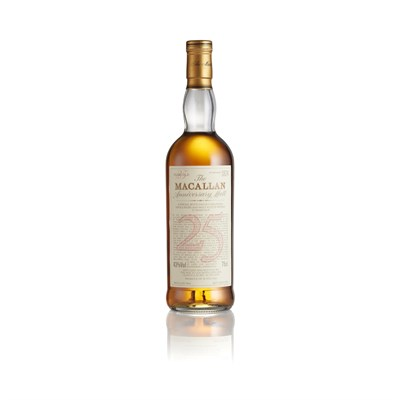 Lot 37-THE MACALLAN 1965 25 YEAR OLD ANNIVERSARY MALT