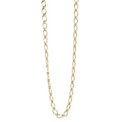 Lot 96-A fancy link chain necklace
