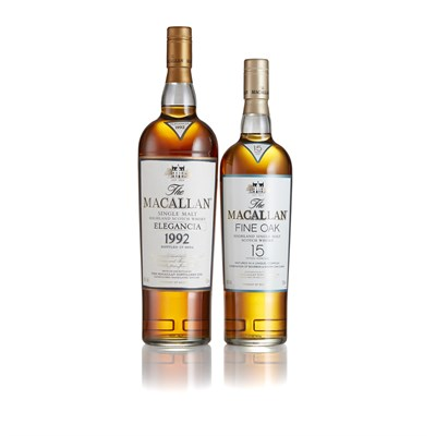 Lot 18 - THE MACALLAN ELEGANCIA 1992