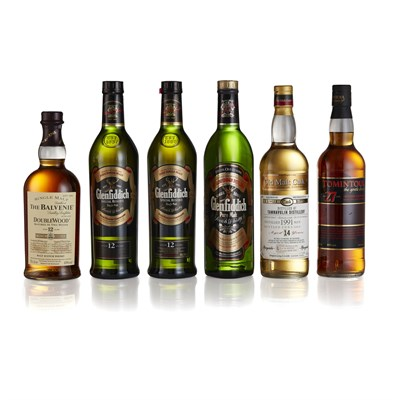 Lot 8 - THREE BOTTLES OF GLENFIDDICH