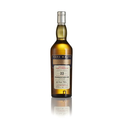 Lot 1 - MANNOCHMORE 1974 22 YEAR OLD - RARE MALTS