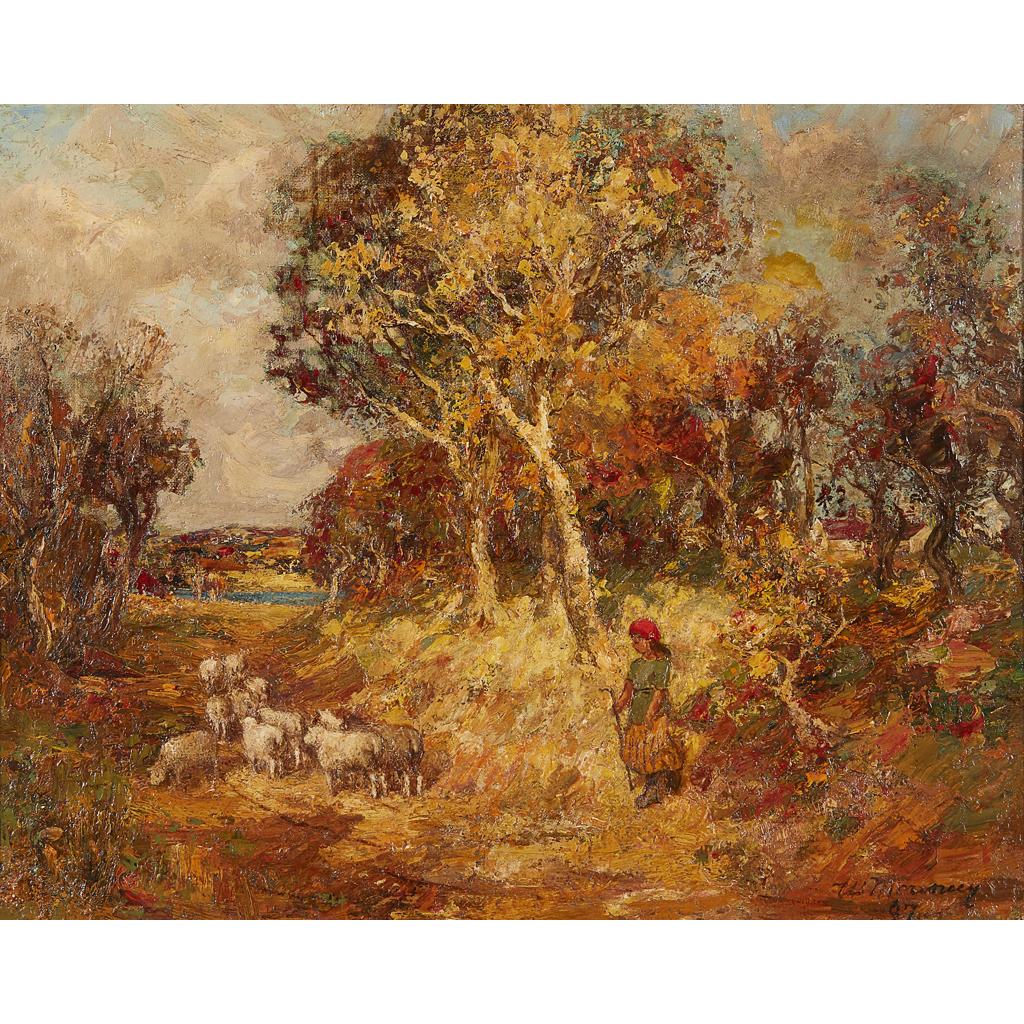 Lot 30 - WILLIAM MOUNCEY (SCOTTISH 1852-1901)
