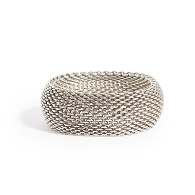 Lot 30-A woven 'Somerset' bracelet, Tiffany & Co